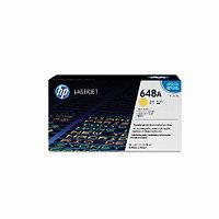Лазерный картридж HP 648A (Оригинальный, Желтый - Yellow) CE262A