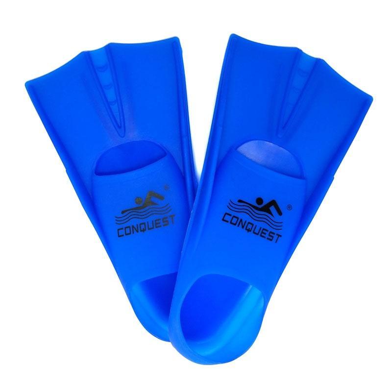 Ласты для плавания силиконовые Conquest 33-35 с чехлом