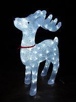 """Новогодняя фигура из акрила """"Олень"""" с подсветкой 67 см (НФ-08), фото 1"""