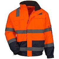Куртка сигнальная оранжевая NITRAS MOTION TEX VIZ