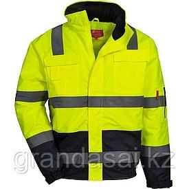 Куртка сигнальная неоново-желтая NITRAS 7143 MOTION TEX VIZ