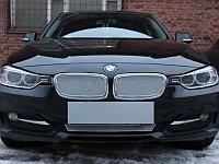 """Защита радиатора Premium, хром, низ BMW 3 """"13-15"""""""