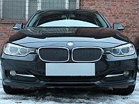 """Защита радиатора Premuim, чёрная, верх BMW 3 """"13-15"""""""