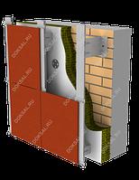 Навесной вентилируемый фасад для керамогранита CERAMA GR