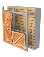 Навесной вентилируемый фасад для листовых материалов DECORA MK