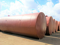Резервуары стальные горизонтальные РГС, вертикальные РВС, газгольдеры СУГ