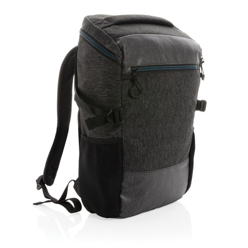 """Рюкзак с легким доступом 900D для ноутбука 15.6"""" (не содержит ПВХ), черный, Длина 24 см., ширина 11 см.,"""