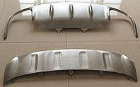 """Комплект накладок переднего и заднего бамперов (Macan Turbo) PORSCHE Macan """"13-"""