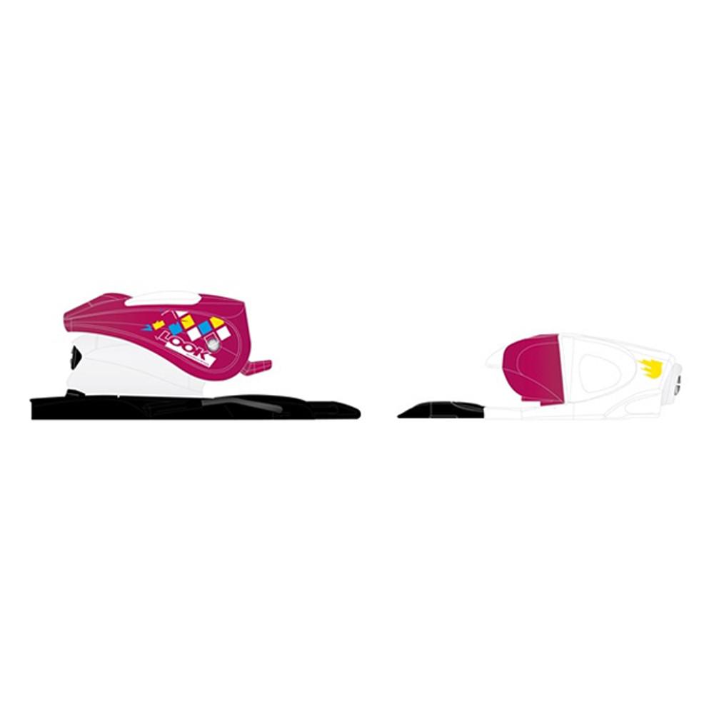 Dynastar  крепления горнолыжные Team 4 RL white-pink