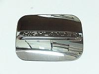 "Накладка на лючок бензобака, хром (без окрашенного логотипа) TOYOTA Highlander ""14-"
