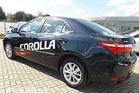 Комплект боковых молдингов Toyota Corolla SD (2013-)