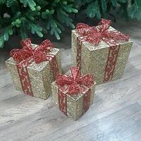 """Новогодняя фигура """"Три подарка"""" (НФ-10)"""
