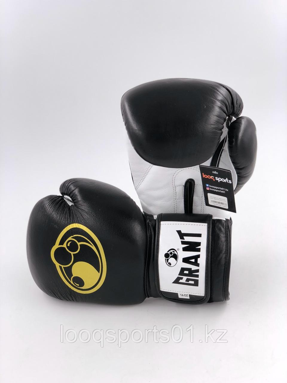 Боксерские перчатки кожа Grant (16)