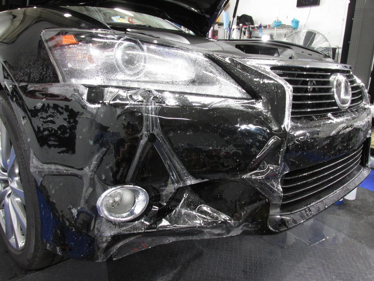 Антигравийная пленка защита автомобиля SunTek Внедорожника ЛЮКС комплект
