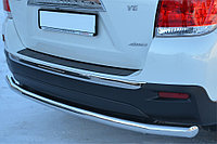 Защита заднего бампера труба одинарная прямая d70 VW T4 2004