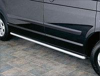 Защита порогов труба d70 нержавейка без проступей средняя база VW KRAFTER-SPRINTER 2010+