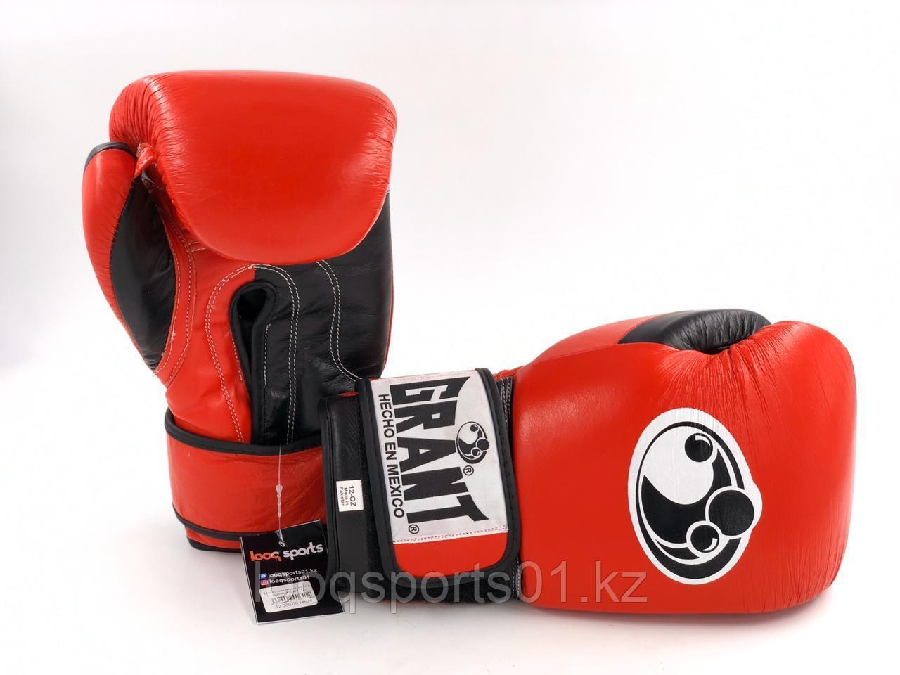 Боксерские перчатки кожа Grant (12)