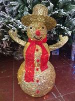 """Новогодняя световая фигура """"Снеговик"""" 97 см (НФ-05), фото 1"""