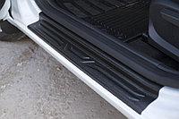 Накладки на внутренние пороги дверей Lada (ВАЗ) Vesta 2015-