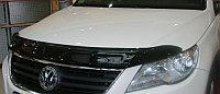 """Дефлектор капота, темный VW Tiguan """"08-/""""11-"""