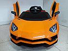 Дерзкий электромобиль на гелевых колесах Lamborghini. Ламборгини. Машинка! Электрокар!, фото 3