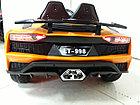 Дерзкий электромобиль на гелевых колесах Lamborghini. Ламборгини. Машинка! Электрокар!, фото 9