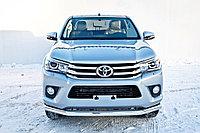 Защита передняя D 76,1 Toyota Hilux 2015-