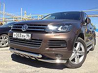 Передняя дуга с защитой D 60,3 Volkswagen Touareg 2010-