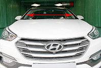 Дефлектор водосток лобового стекла Hyundai Grand Santa Fe III 2012-