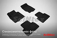 Текстильные 3D коврики Ford GALAXY 2006-2015 Черный цвет