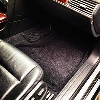 Текстильные 3D коврики Nissan ALMERA classic (B10) 2006-2013 Черный цвет