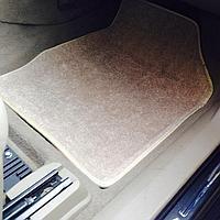 Текстильные 3D коврики Nissan ALMERA classic (B10) 2006-2013 Бежевый цвет