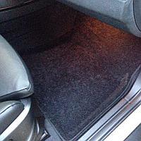 Текстильные 3D коврики Nissan ALMERA IV 2013- Черный цвет