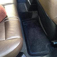 Текстильные 3D коврики Nissan TIIDA 2007-2015 Черный цвет