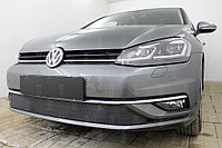 Защита радиатора Volkswagen Golf VII 2017- black