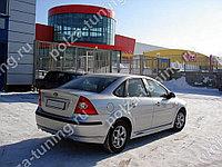 Юбка FT заднего бампера (седан) Ford Focus 2 (2004-2008)
