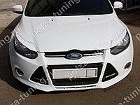 Реснички на фары var №2 узкие Ford Focus 3 (2012-2014)