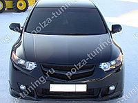 """Планка в реш. радиатора """"Sport"""" var №1(под логотип H) Honda Accord VIII (2008-2010)"""