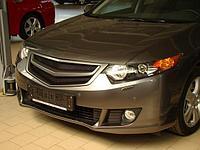 """Планка в реш. радиатора """"Sport"""" var №2 Honda Honda Accord VIII (2008-2010)"""