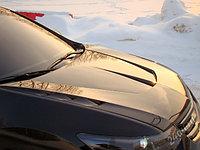 """Капот пластиковый """"Agressive Waterproof"""" Var №1 (с глухими воздуховодами) Honda Accord VIII (2008-2013)"""