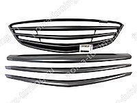 Комплект планок - 3шт.(вверхняя, средняя, нижняя) для решетки радиатора Mazda 6 GJ (2013 - н.в.)