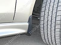 Брызговики на пороги 2.0 Mitsubishi Lancer X (2007-2016)