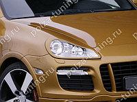 Реснички на фары Porsche Cayenne 957 (2007-2009)