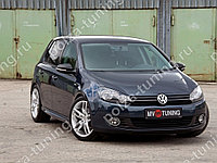 Пороги в стиле R-Line VW Golf VI (2008-2012)