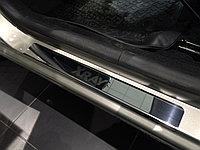 Накладки на пороги нерж.сталь Lada Xray 2016- ( 4шт.)