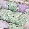 Комплект в детскую кроватку Страна Чудес Кролики 6 предметов