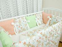 Комплект в детскую кроватку Страна Чудес Оленята 6 предметов, фото 1