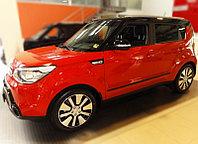Комплект боковых молдингов для Kia Soul c 2012
