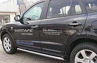 Комплект молдингов на двери Hyundai Santa Fe (2007 - 2011)