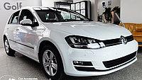 Комплект молдингов на двери VW Golf VII 5D (2013-)